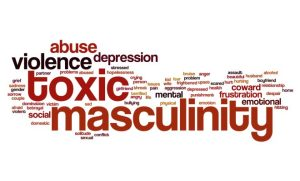 Toxic masculinity word cloud
